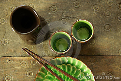 Chinese sake set