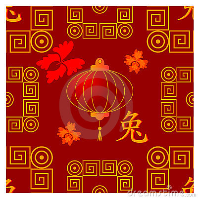 Chinese seamless traditional  pattern