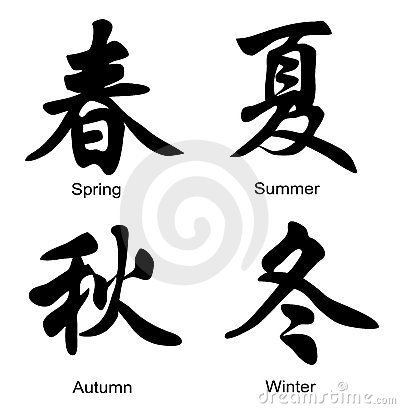 Chinese of seasons