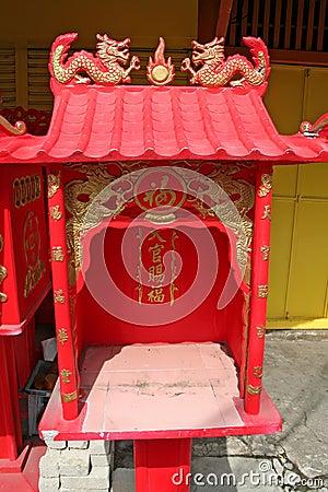 Free Chinese Shrine Royalty Free Stock Image - 3058766