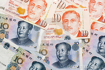Chinese Singapore currencies