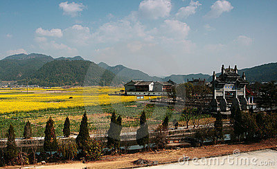 Chinese small town