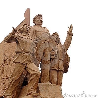 Free Chinese Statue Stock Image - 12518321