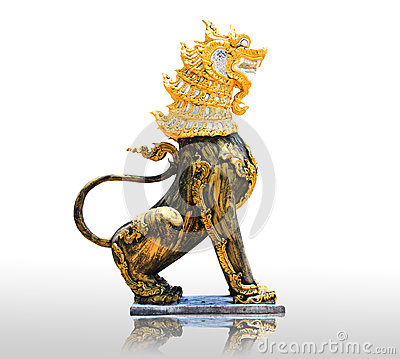 Free Chinese Stone Lion Statue- The Symbol Of Power For Chinese Stock Photos - 31476563