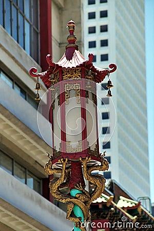 Chinese streetlamp