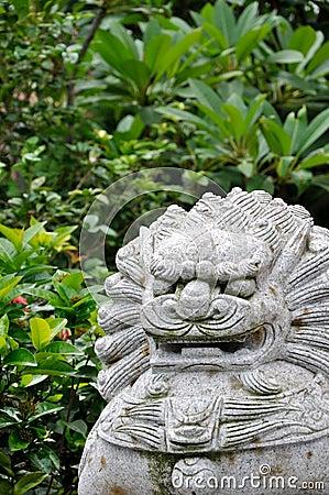 Chinese style beast statuary