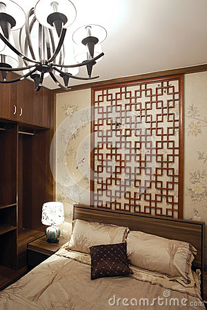 Chinese-style bedroom