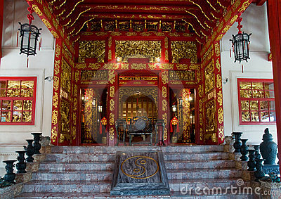 Chinese style building at Bang Pa In, Thailand