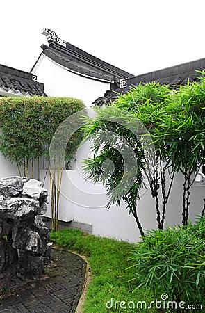 Chinese garden, court yard style