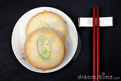 Chinese-style dessert.