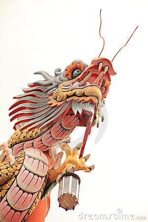 Free Chinese Style Dragon Statue Royalty Free Stock Image - 22763986
