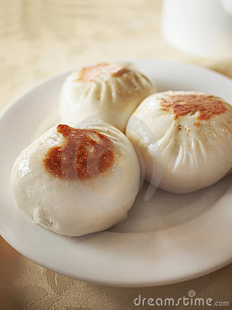 Chinese style fried buns
