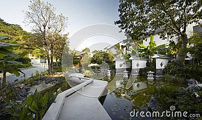 Chinese-style garden