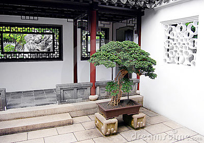 Chinese Style House Entrance Stock Photography - Image: 7774962