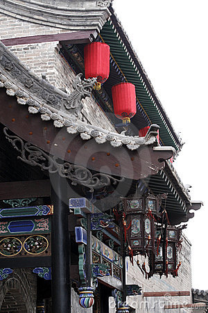 Chinese-style restaurant