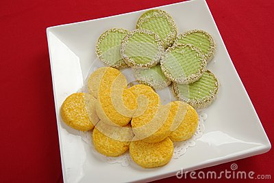 Chinese style snacks