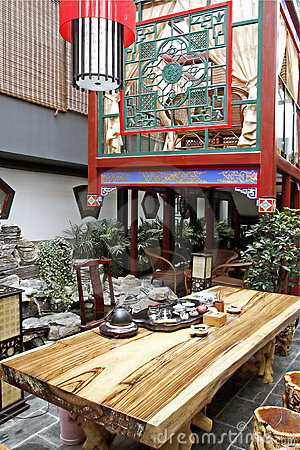 Free Chinese-style Teahouse. Royalty Free Stock Photography - 5274307