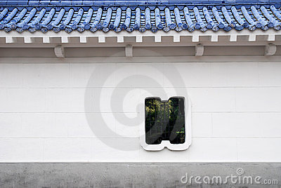 Chinese style wall.