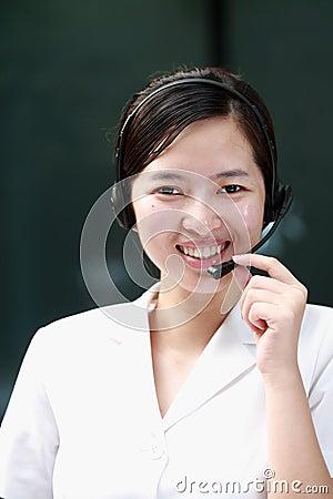 Chinese sustomer service agent