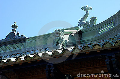 Chinese Tea House roof