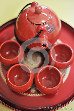 Chinese tea set
