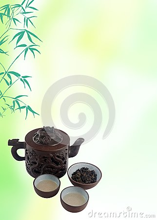 Chinese tea template