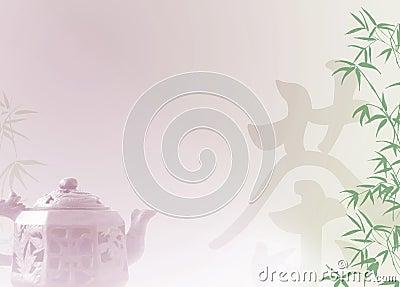 Chinese tea template