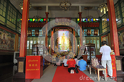 Chinese Tempel Redactionele Foto