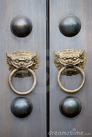Chinese Temple Door Knobs