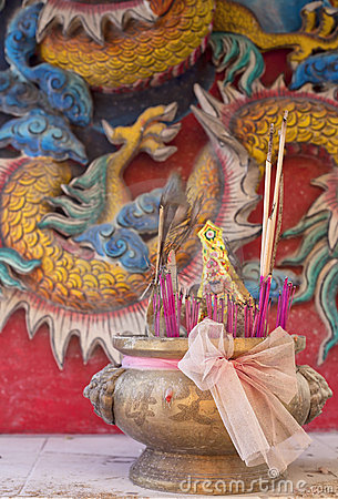 Chinese temple incense