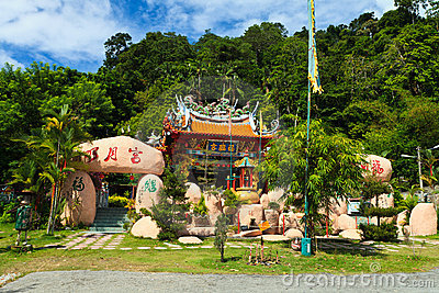 Chinese temple in Malaysia