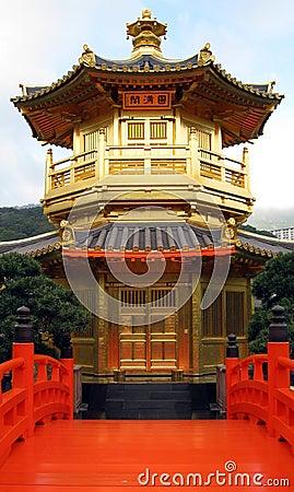 Free Chinese Temple Pagoda - Hong Kong China Royalty Free Stock Images - 12164819