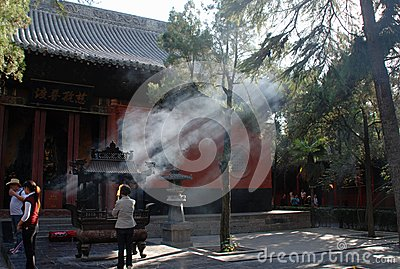 Chinese temple Editorial Stock Image