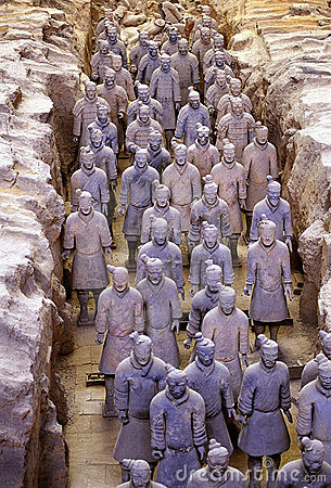 Free Chinese Terra-cotta Warrior Royalty Free Stock Images - 3818359