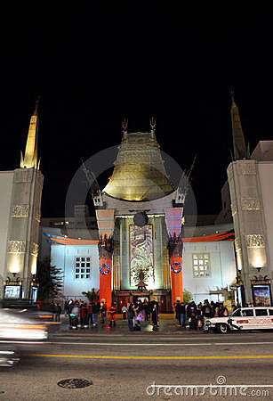 Chinese Theatre Editorial Image