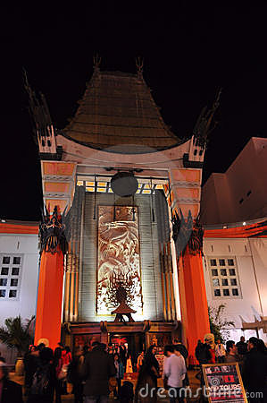 Chinese Theatre Editorial Photography