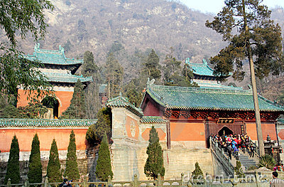 Chinese tour sites Editorial Image