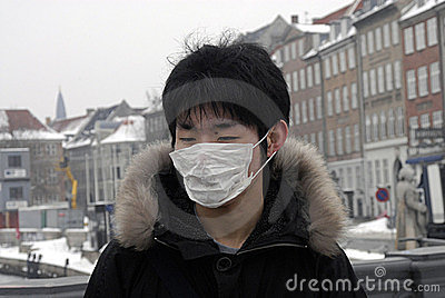 CHINESE TOURISTS WITH MASK Editorial Image