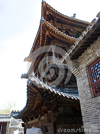 A Chinese traditional building