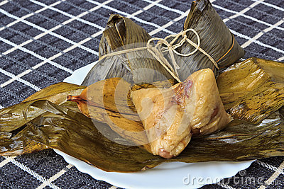 Chinese traditional food rice dumplings