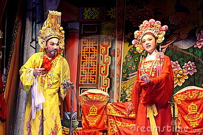 Chinese Traditional Opera Editorial Stock Image