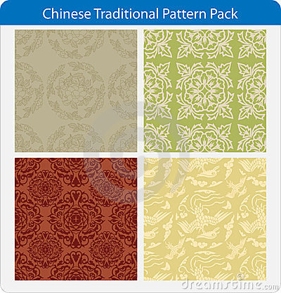 Free Chinese Traditional Patterns Stock Photography - 23331802