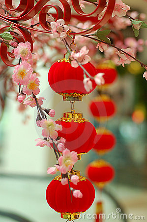 Chinese traditional red lantern 3