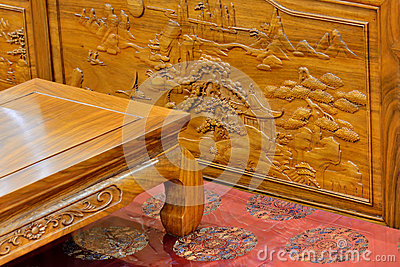 Chinese traditional wooden furniture