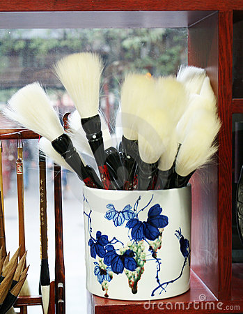 Chinese traditional writing brush