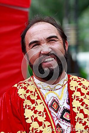 Free Chinese Uygur Nationality Elderly Man Stock Images - 79221354