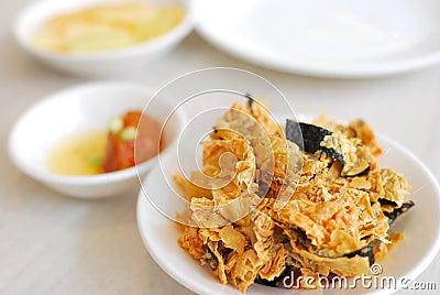 Chinese vegetarian appetizer dish