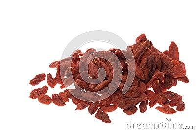 Chinese Wolfberries Herb Macro