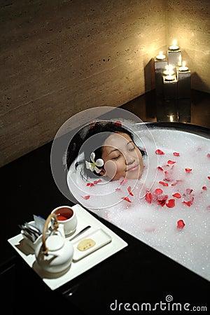 Free Chinese Woman At Spa Stock Photo - 432710