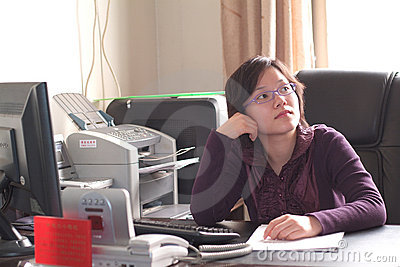 Chinese Working Woman